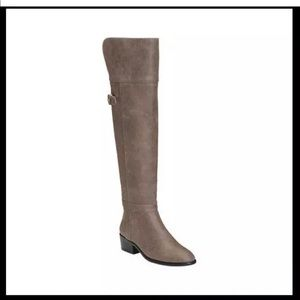 7.5 Aerosoles Mysterious Over the Knee Boot Grey